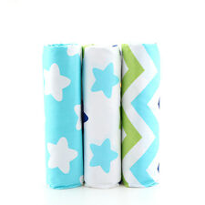 3PCS Cotton Star Fabrics Patchwork Textile Sewing For Doll Clothes DIY Crafts
