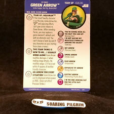 Green Arrow Team Up Card 026.06 Aquaman Justice League Unlimited Heroclix