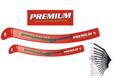 KIT2 Premium Hybrid Beam Windshiled Wiper Blade Fits:CADILLAC ESCALADE 2002-2013
