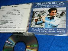 CD japan 1987 friedrich KUHLAU klavier FLÖTE flute SOLO peter lukas GRAF sirokay