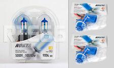 Nokya Cosmic White 9004/HB1 Headlight Bulbs- 5000K 100/80W * With Wire Harnesses