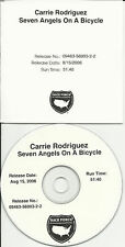 CARRIE RODRIGUEZ Seven Angels ADVNCE TST PRESS PROMO CD