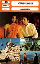 FICHE CINEMA : NOCTURNE INDIEN - Anglade,Célarié,Corneau 1989