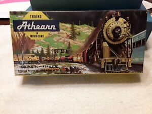 BOX ONLY Vintage Athearn Yellow Box   BOX ONLY