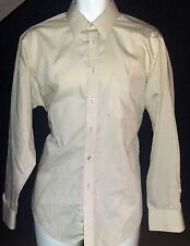 Vintage Austin Manor Performance Plus Work Shirt Single Needle Tailoring Mens 16