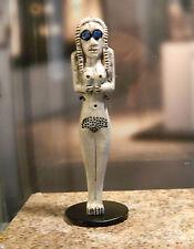 4000-3500 v. Chr. Ägyptische Naqada-Kultur - Grabstatuette inkl. Halter