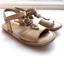KICKERS Sandale Sandalette beige Leder weich superbequem 28