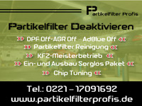 DPF OFF AGR OFF Partikelfilter Deaktivieren Ford Transit-Custom-Connect