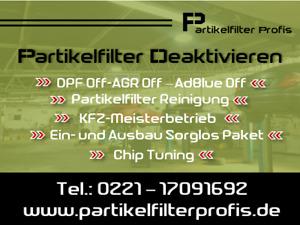 DPF OFF AGR OFF Partikelfilter Deaktivieren Audi A6 2.0 TDI 2.7 TDI 3.0 TDI