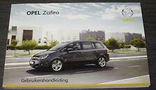 Gebruikershandleiding Opel Zafira B Handleiding Betriebsanleitung Stand 01/2008!