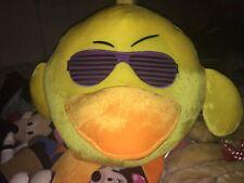 RARE HTF HUGE YELLOW BIRD CHICK DUCK KANYE SHUTTER SUNGLASSES Carnival PLUSH New