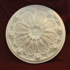 Large Ceiling Rose 860mm Fine Casting Plaster - Handmade
