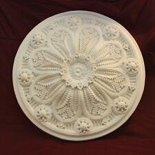 Large Ceiling Rose 860mm Fine Casting Plaster - Handmade
