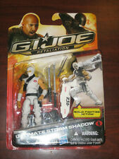 Gi Joe Retaliation (Hasbro 2012) ULTIMATE STORM SHADOW/SNAKE EYES Set Moc! Rare!