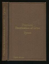 Medical Book A GUIDE TO THE PRACTICAL EXAMINATION OF URINE by James Tyson ©1893