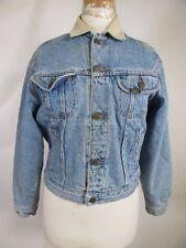 VTG Lee Button-Up Blanket Lined Denim Jean Jacket Size L 10035