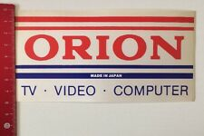ADESIVI/Sticker: Orion-Made in Japan-TV computer video (11031689)
