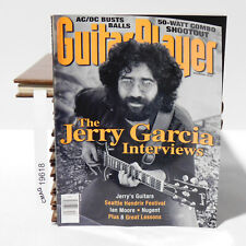 JERRY GARCIA INTERVIEW GUITAR PLAYER MAGAZINE AC/DC Ian Moore December 1995