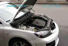 04-08 Mazda3 Mazda 3 MPS3 Hatchback 5 Door Black Strut Hood Shock Damper Kit