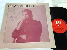 Grayson Hugh - Self Titled Private Press 1980 AUTOGRAPHED W/ Insert LP