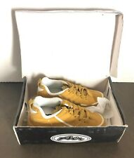 Air Sport Collection, Yellow/White Sneakers w/ Wheels Boy's Size 3 New Open Box