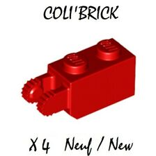 LEGO 5 x charnières articulé gris 44301-Hinge Light Bluish Gray-Neuf//New