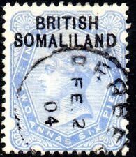 1903 Somaliland Protectorate Sg 4 2a6p ultramarine Fine Used