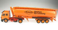 CONRAD - Mercedes-Benz - Spitzer READYMIX Kipp-Silo Sattelzug - 1:50 - LKW Truck