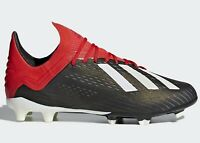 adidas JR X 18.1 FG-Black/Red