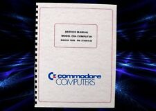 COMMODORE 64 C64 Vintage Computer Owners Service Manual