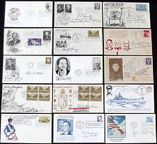 United States Generals & Admirals Collection Of Autographs WW II Signed Covers B