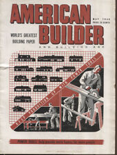 1948 AMERICAN BUILDER Magazine May