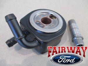 07 thru 10 Explorer Sport Trac OEM Genuine Ford 4.0L V6 Oil Cooler Housing NEW