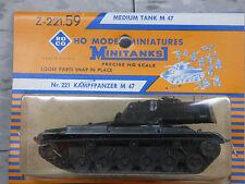 Roco Minitanks / Herpa (NEW) Modern US M-47 Patton Main Tank Lot #893K