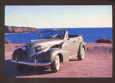1939 CADILLAC SERIES 61 LAGUNA BEACH CALIFORNIA ADVERTISING POSTCARD COPY '39