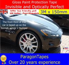3m x 150mm Gloss Paint Protection Tape film Car Door Sill Boot Bumper vinyl Wrap