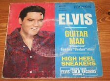 Elvis Presley / 45T originaux 3 disques RCA / GUITAR MAN / Singles