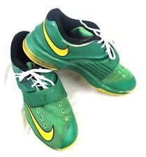 NIKE KD ZOOM Basketball Shoes 653997-337 Green/Yellow Kevin Durant size 7