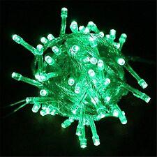 Green 10Meter 110V 100 LED Christmas Tree Wedding Fairy Party String Lights Lamp