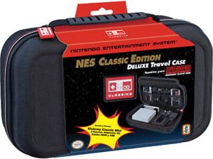 Valise de Rangement Officiel Nintendo SNES NES Mini Classic Deluxe Case Malette
