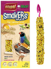 Smakers bird snacks are treat sticks that are created with high quality