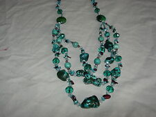 large stunning gemstone necklace wow wow ln7