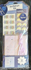 Creatables Invitation Kit Makes 8 Cards Christian Religion Cross Rainbow Sticker