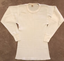Vintage Thermal Shirt Long John Top