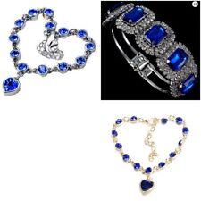 Womens Royal Blue Jewel Bracelet