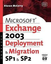 USED (VG) Microsoft Exchange Server 2003, Deployment and Migration SP1 and SP2