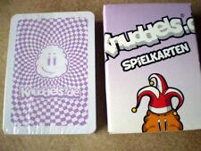 Poker - Kartenspiel von KNUDDELS. de mit Knuddeligen , lustigen Motiven / NEU