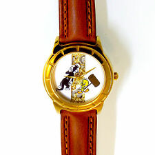 Tweety Bird And Sylvester Fossil Loony Tunes Watch Collection, Skeleton Look $69