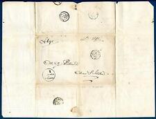 ITALIA - LOMBARDO VENETO - 1860 - Lettera da Bozzolo ad Almenno S.Salvatore