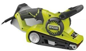 Sander Band 800 W Ryobi EBS800 76 MM Handle Gripzone™